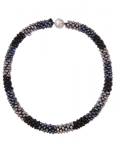 kurze Halskette Klara Kristallkorn - 10/multi