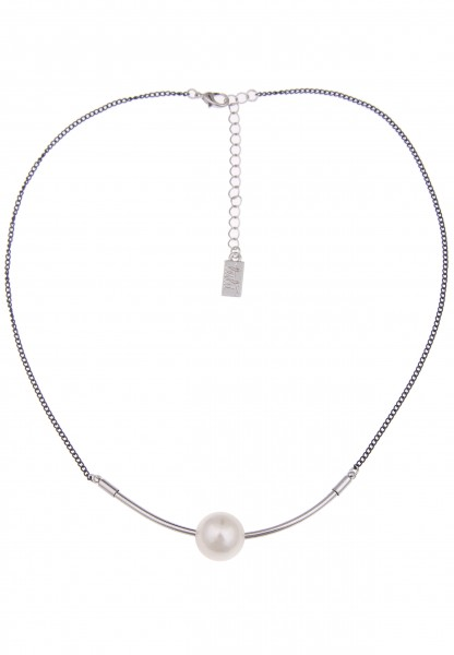 kurze Halsketten - 12/weiss