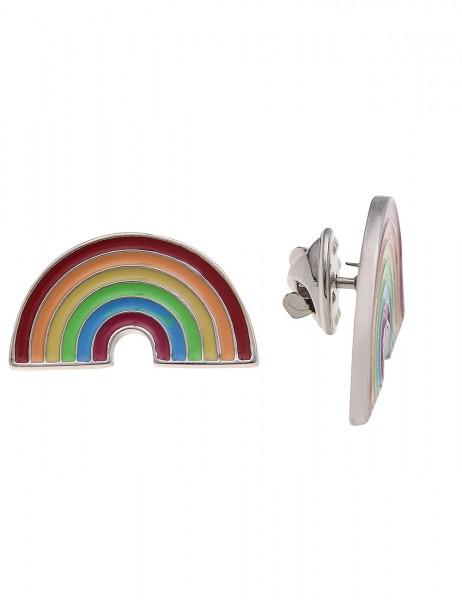 -70% SALE Leslii Pin Anstecker Regenbogen Bunt   Damen-Accessoires Mode-Schmuck   Größe: 1,9cm