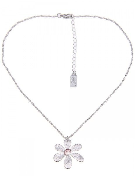 lange Halskette - 18/pink