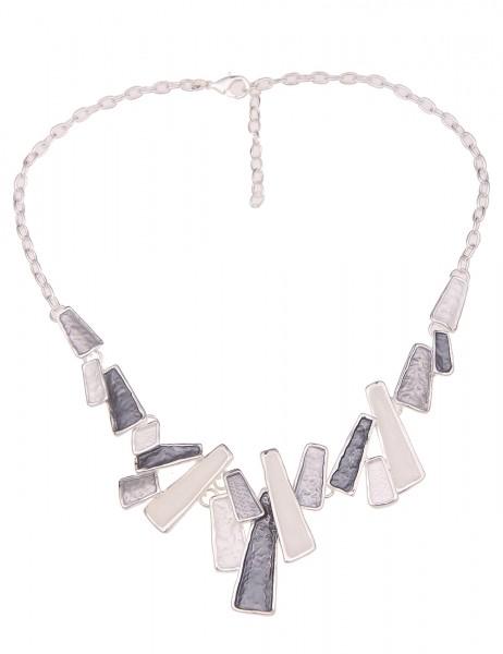 kurze Halskette Maike - 13/grau