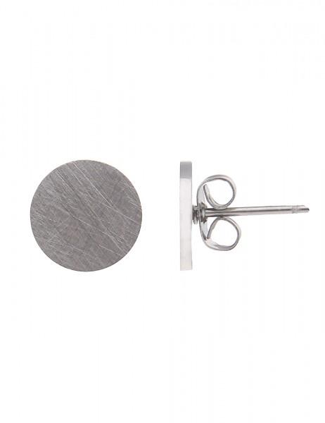 -70% SALE Leslii Damen-Ohrringe Ohrstecker Round-Look Metalllegierung 1cm 230114816