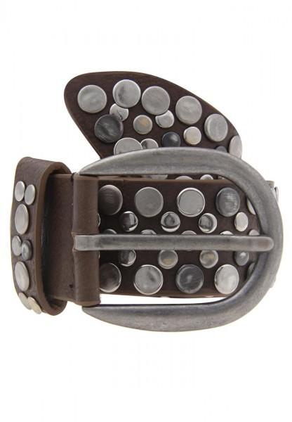 Guertel Nietenguertel Standard 80 cm - 13/grau