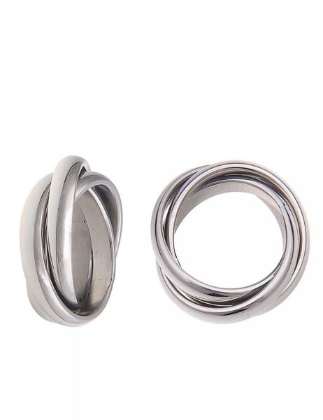 -50% SALE Leslii Damen-Ring Premium Quality Trio Edelstahl Größe 17mm, 18mm oder 19mm 250115883